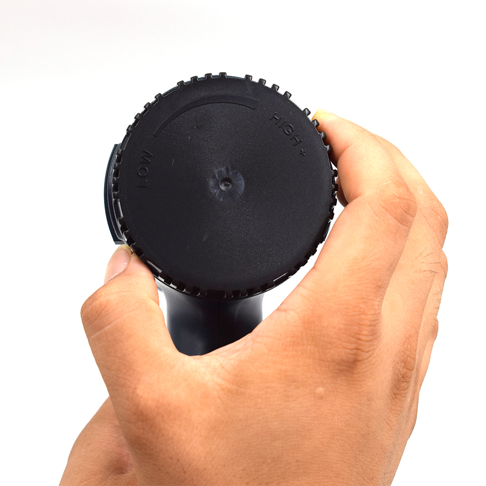 Termoregolatore LCD industriale elettrico pistola ad aria calda 1800W - Utensili elettrici - Fotografia 5