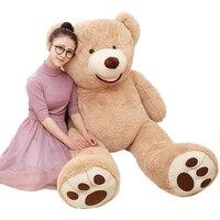 1 unid 100 cm alta calidad de juguetes de felpa oso de peluche oso americano popular regalo clásico juguete para niños