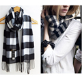 Women Men Unisex  Winter Warm Wrap Scarf Shawl Geometric Infinity Scarf