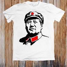 MAO ZEDONG-CHAIRMAN MAO UNISEX T-SHIRT Hot Sell 2018 Fashion  T Shirt Short Sleeve Tricolor delillo d mao ii
