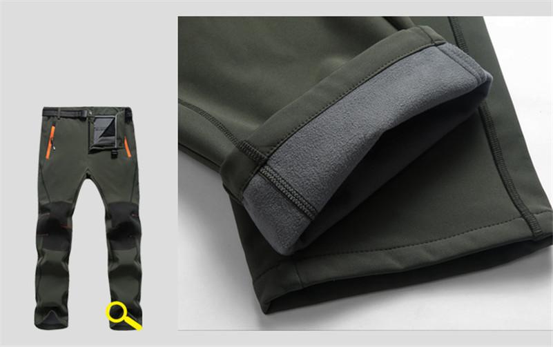 OUEST VÉLO Hiver Thermique Pantalon En Plein Air Hommes Femmes ... dc2a5a688b6