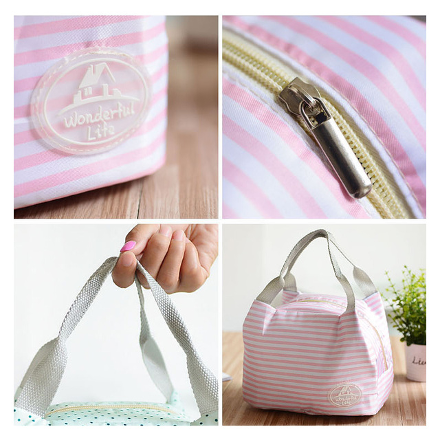 Portable Lunch Thermal Food Bag