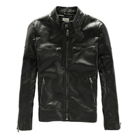 Beckham PU Leather Riding Cyling Jacket Hot Sale Fall Winter Fashion Men S Black Color Motorcycle