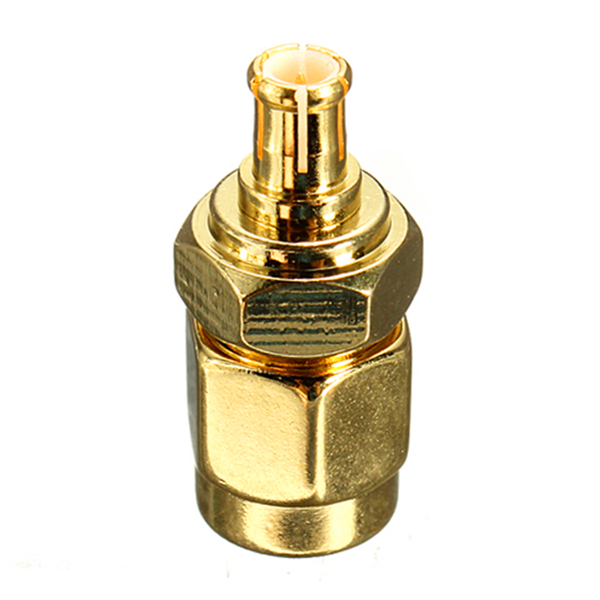 2017 SMA Male Plug to MCX Male Plug RF Coaxial Straight Adapter Connector Convertor Electrical Equipment Supplies