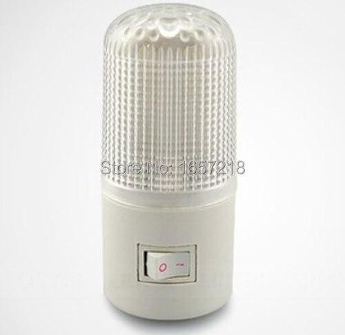 2014 NEW 3W LED Nightlight Wall Plug Bright Warm White Light Saving Energy AC Powered