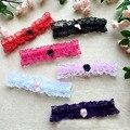 Sexy Princess Cosplay Wedding Party Bridal Maid Lace Floral Thigh High Stocking Garter Belt Dot Bowknot Elastic Leg Ring Loop