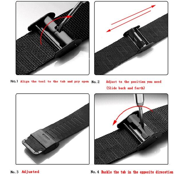 Fashion Mens Watches Top Brand Luxury Quartz Watch Men Casual Slim Mesh Steel Date Waterproof Sport Watch 5