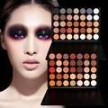 Moda profesional 35 Color Tierra Caliente Shimmer Palette Cosmética Sombra de Ojos Maquillaje Paleta de Sombra de Ojos