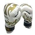 Оригинальные 3 цветов 10 унц. PU mateial высокое качество дышащий мужской фитнес боксерские перчатки муай тай для взрослых бесплатная доставка