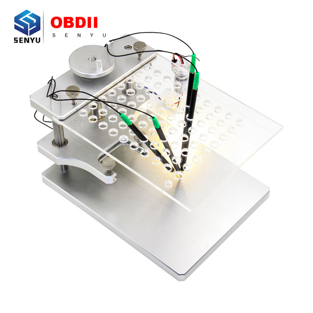 FGTECH BDM 100 ECU 프로그래머 도구에 대 한 LED BDM 프레임 테이블과 높은 품질 BDM 프레임 ECU 프로그래머 도구