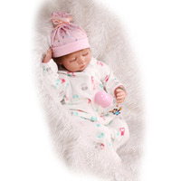 Gift PlayHouse Cute Soft Sleeping Newborn Girl Babies