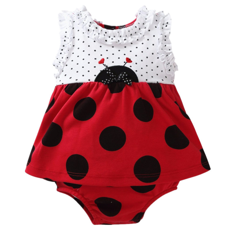 Summer Baby Rompers Cotton Sleeveless Newborn Baby Girl Clothes Fashion Cartoon Baby Girl Dress Romper Jumpsuit Baby Overalls newborn baby rompers baby clothing 100% cotton infant jumpsuit ropa bebe long sleeve girl boys rompers costumes baby romper