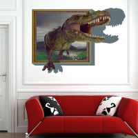 Dino Paradise Beta. diy pvc cartoon decals children gift 3D Sticker arts posters The children's room poster