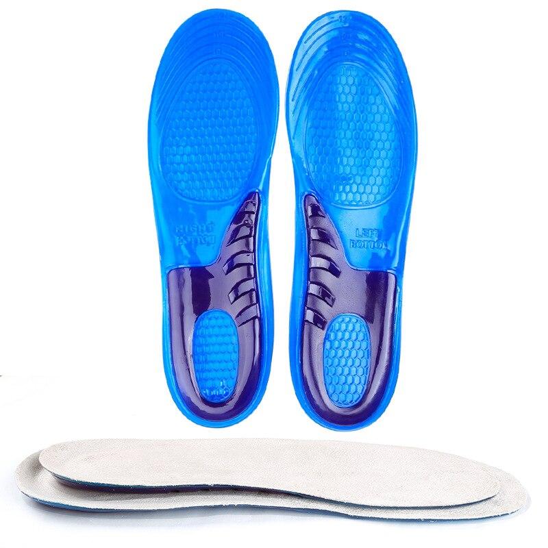 2 пары anti-slip гель стельки мягкой обуви Pad для человека Для женщин Бурсит большого пальца стопы Корректор педикюр ортопедических Arch Поддержка...