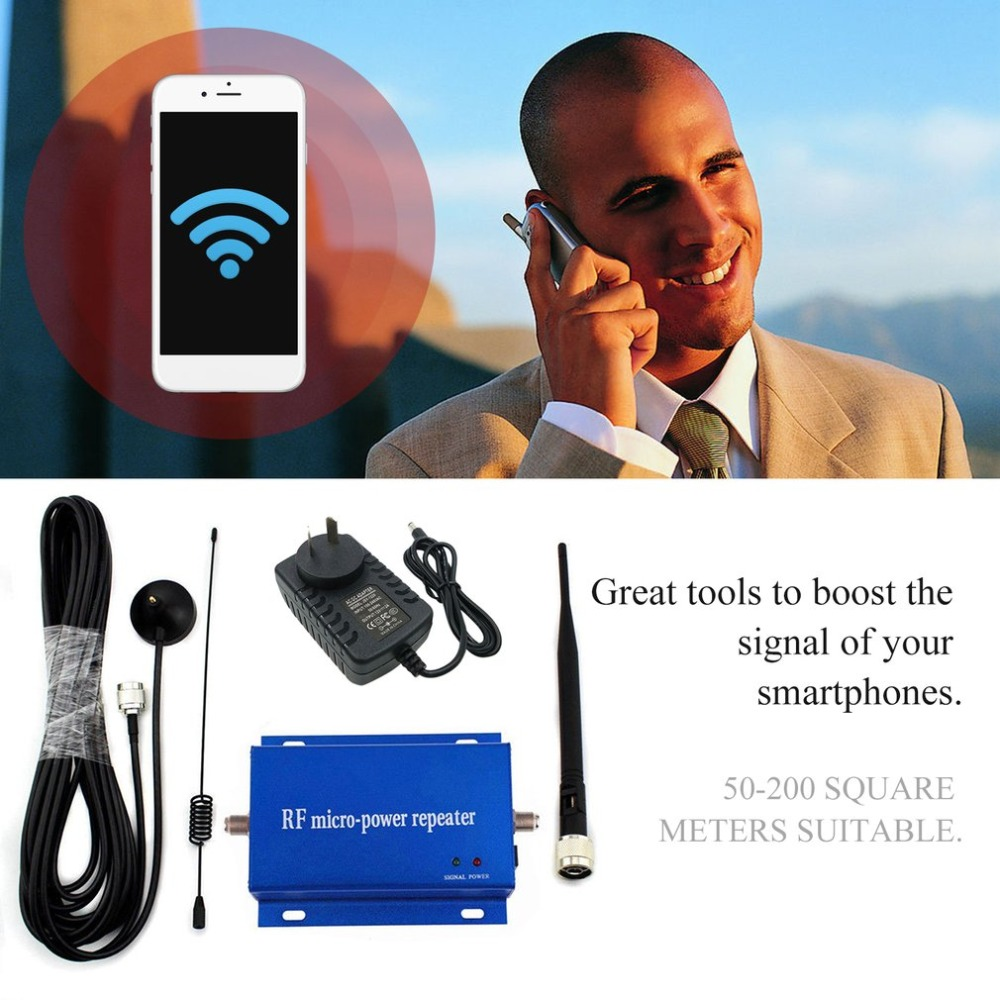 Small Size GSM CDMA 850MHz Cell Phone Signal Repeater Booster Amplifier Aerial Kit Mobile Phone Signal Repeater portable size gsm 900mhz repeater signal amplifier mobile phone gsm booster amplifier for conference rooms hotels