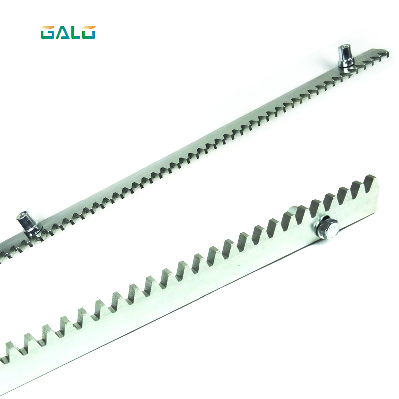 Metal Rack for gate opener steel tooth racks Heavy Duty Steel Gear Racks for any gear driven gate motor set of driven cambered angle gear