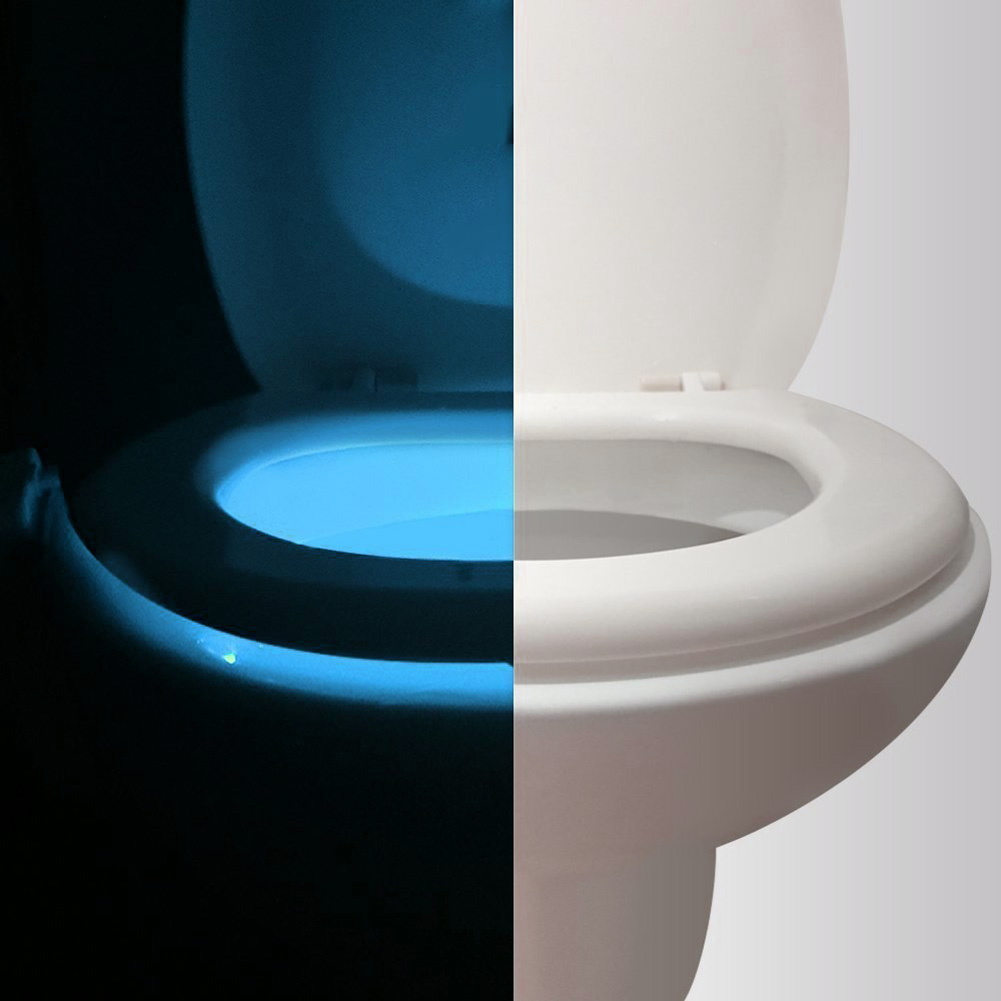 Lights & Lighting Sporting 8 Colors Waterproof Backlight Smart Pir Motion Sensor Toilet Seat Night Light For Toilet Bowl Led Luminaria Lamp Wc Nightlight We Take Customers As Our Gods Led Night Lights
