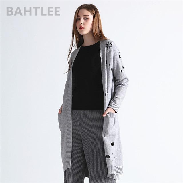 Aliexpress.com: Comprar BAHTLEE 2018 otoño mujer cardigan de lana de ...