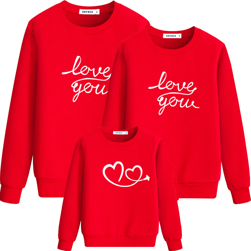 Family Matching Clothes Christmas Parent-child Outfits Family Look Sweaters Mother Father Kids Shirt For Mom Dad Son Girls CA103