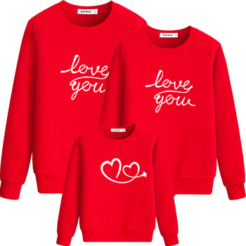 Family Matching Clothes Christmas Parent-child Outfits Family Look Sweaters Mother Father Kids Shirt for Mom Dad Son Girls CA103 Family Matching Outfits