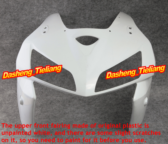 Motorcycle Upper Front Fairing Cowl Nose Parts for Honda 2005 2006 CBR600RR F5 Injection Mold ABS Plastic Unpainted microwave oven parts plastic injection mold cnc machining household appliance mold