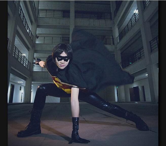Costume de Cosplay Batman jeune Robin