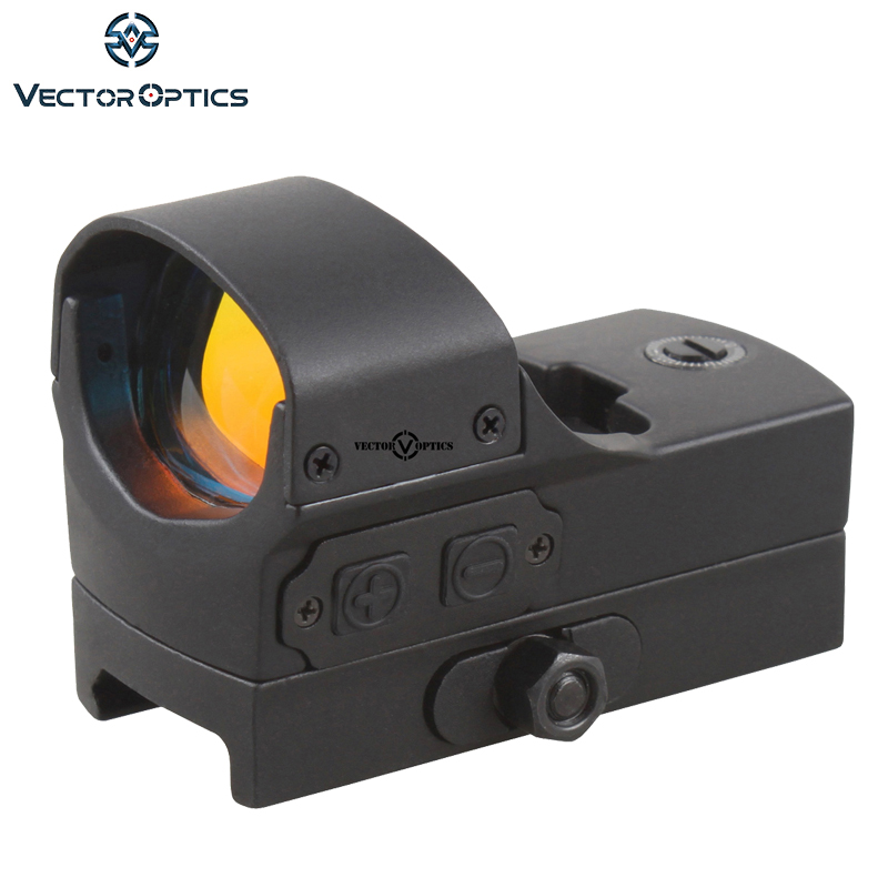 Vector Optics Wraith Tactical Reflex 3 MOA Motion Sensor Red Dot Sight High End fit Airgun Shotgun Rifle Holographic Scope vector optics mini 1x20 tactical 3 moa red dot scope holographic sight with quick release mount fit for ak 47 7 62 ar 15 5 56