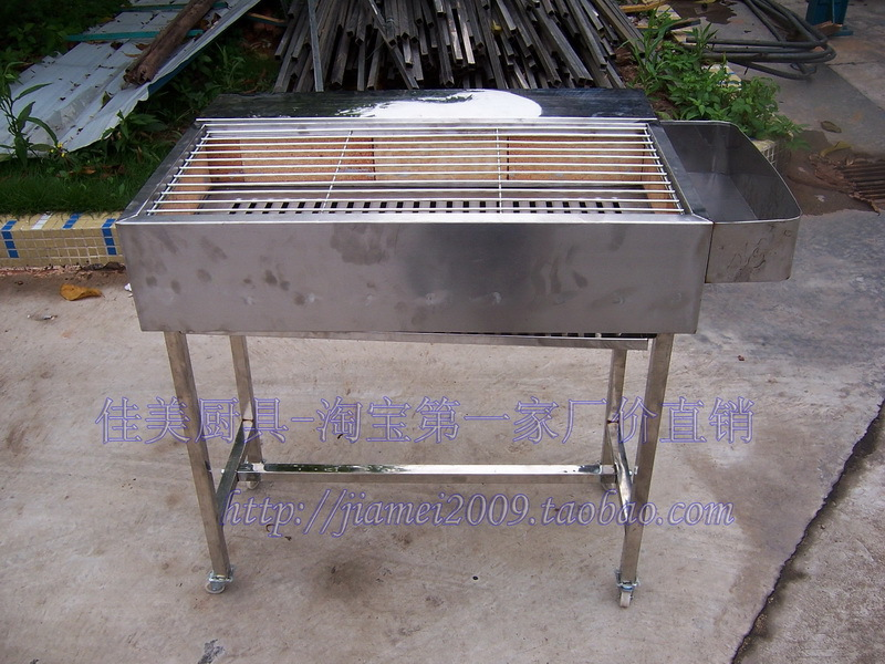 only the highest quality stainless steel household commercial charcoal grill with fire brick bbq queen on alibaba group - Stainless Steel Charcoal Grill