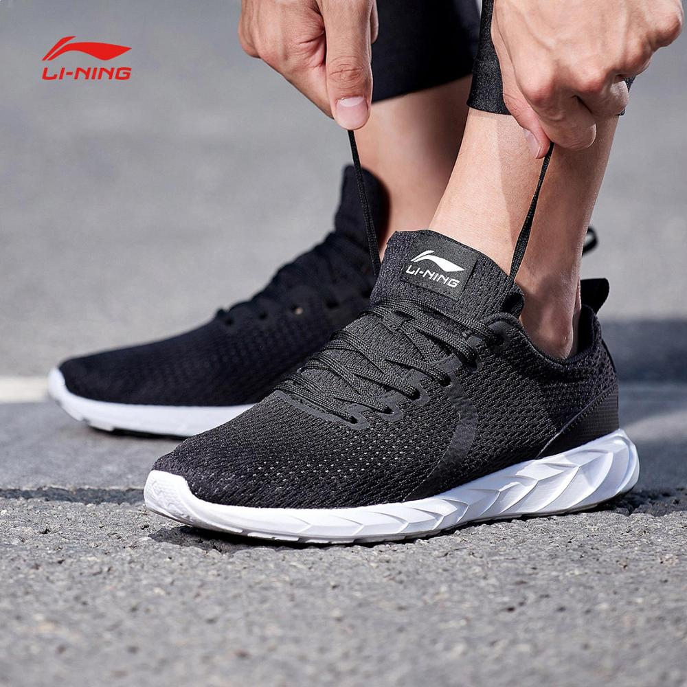 Li Ning Men FUTURE RUNNER Running Shoes Breathable Light Weight LiNing Wearable Sports Shoes Comfort Sneakers