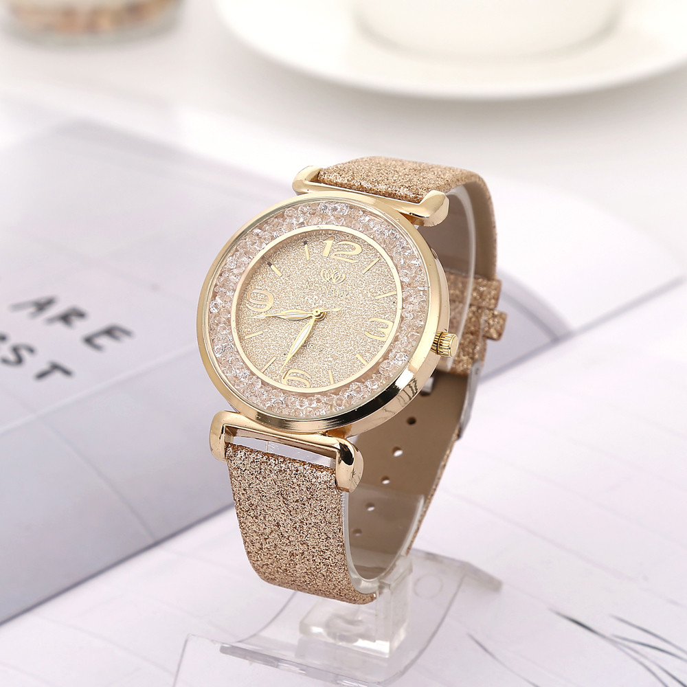 Luxury Women Quartz Watch Ladies Dress Fashion 2019 Hot Montre Analog Wrist Watches Female Clock Fashionable Relogio Feminino #A