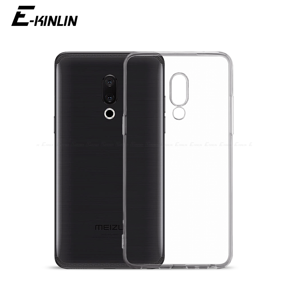 Clear <font><b>TPU</b></font> <font><b>Case</b></font> For <font><b>Meizu</b></font> 17 16T 16th 16 X 16S 16Xs 15 Lite X8 Pro 7 6 6s Plus M8 <font><b>M6T</b></font> M6s M6 M5c M5s Note 8 9 Silicone Back Cover image