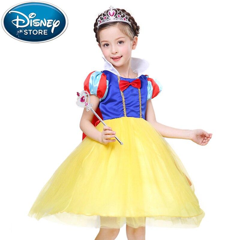 f785a675cc422c Disney Bevroren jurk Meisjes Kinderen Kleding Anna Elsa Meisje Baby Elza  Kostuum Kids Zomer Prinses Vestidos Infantis tule jurk in Disney Bevroren  jurk ...