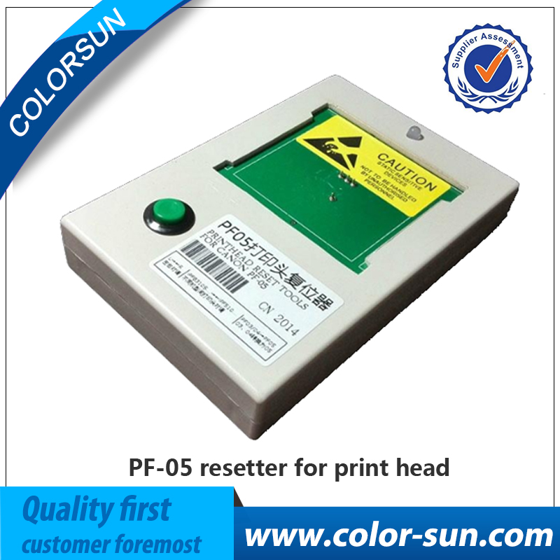 PF 05 Reset PrintHead Print Head Printer Head Chip Resetter Decoder for Canon iPF6300 6350 6400 6450 6460 8300 8300S 8400 9400
