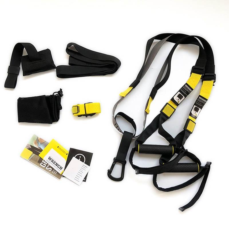 все цены на Safety Belt Unisex Suspension Training Belt Multi-functional Fitness Resistance Training Straps Maximum load 300kg онлайн