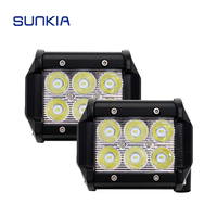 1pcs 4 Inch 18W LED Work Light Lamp Spot Beam For Motorcycle Tractor Boat Off Road