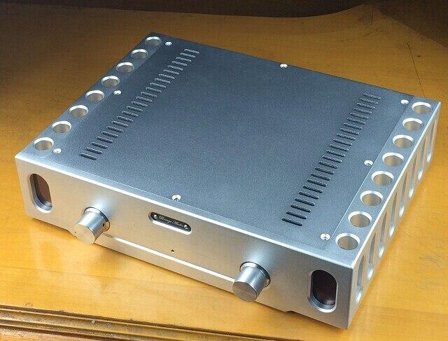 Все алюминиевый точности с ЧПУ усилитель мощности шасси BZ3608B 933 усилитель мощности случай DIY box shell