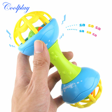 Coolplay Newborn Baby Rattles 0-12 Months Baby Teether Hand