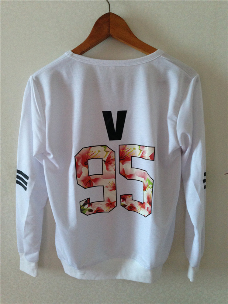 Kpop children BTS 2016 Bangtan mood for love thin unisex t k-pop BTS dress clothes hooded jacket long sleeve shirt top