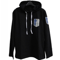 Attack on Titan Hoodie Scouting Legion Coat men women thin Cloth no pocket anime cosplay costume outfit ATLC4