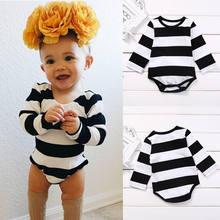 8a79a93f8 Bobo estilo 2017 nueva marca bebé niña rayas camiseta vestido de rayas  niños otoño manga larga de algodón de moda superior y ves.