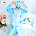 Wholesale Unisex Adult Flannel Pajamas Adults Cosplay Cartoon Animal Onesies Pyjama Sets Sleepwear Pikachu/Stitch/Unicorn