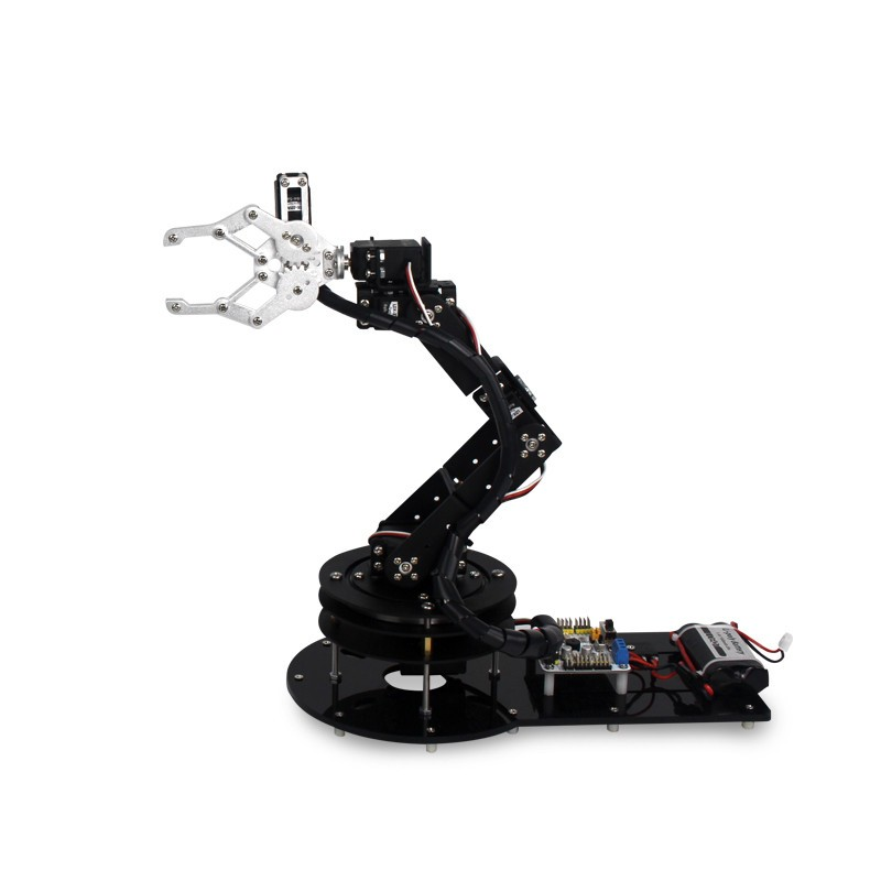 6 DOF Alloy Robot Arm (3)
