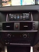 OTOJETA de gama alta pantalla táctil quad core android 4.4.4 coche multimedia cabeza unidades para BMW X3 F25 F26 2014-2016 con SISTEMA NBT X4