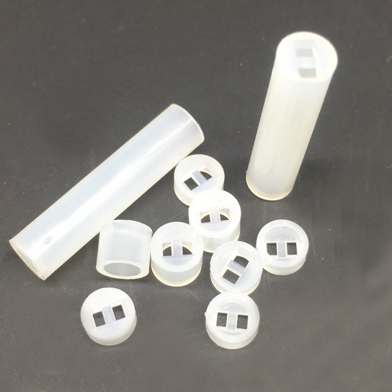 <font><b>5&#215;5</b></font> <font><b>LED</b></font> Spacer Support Hood Nylon PCB Board Mount Pack 1000