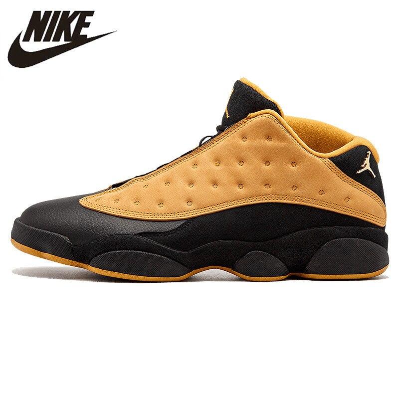 "Nike Air Jordan 13 Low ""Hornets"" Men's Basketball Shoes Sneakers,Original Low Sports Shoes 310810 107 23"