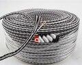 Alta Qualidade Fio de Altifalante de Alta Fidelidade 8TC Audiophile Speaker Cable Por Metro