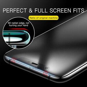 Image 3 - Матовое закаленное стекло для samsung galaxy A9 A6 A8 Plus 2018 матовая защита экрана на galax A9 2018 A920 A9s защитное стекло