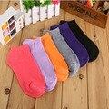 10 Pares = 20 pçs/lote Mulheres Socks, Fluorescência Cotton Sock, Doces Cor Da Moda Tornozelo Barco Curtas Meias, muitas Cores