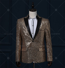 terno giacca paillettes costume