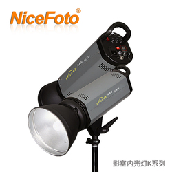 NiceFoto studio flash k series 500w portrait clothes wedding dress flash light